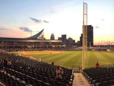 Louisville Slugger Field, sección: 101, fila: Z, asiento: 24