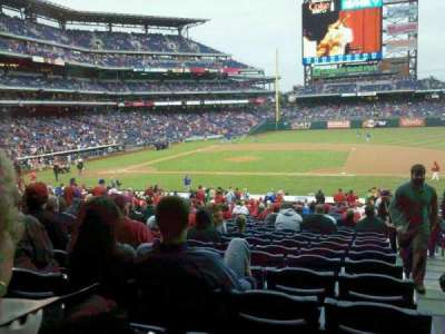 Citizens Bank Park, sección: 116, fila: 32