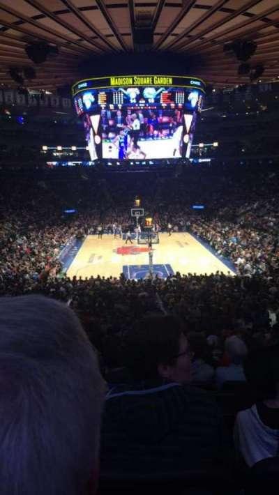 Madison Square Garden, sección: 112, fila: 22, asiento: 12