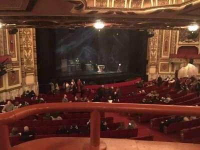 Cadillac Palace Theater, sección: Dress Circle L, fila: EE, asiento: 5