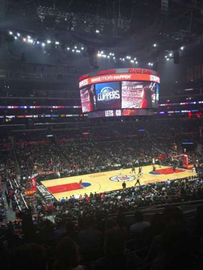 Staples Center, sección: PR7, fila: 12, asiento: 9
