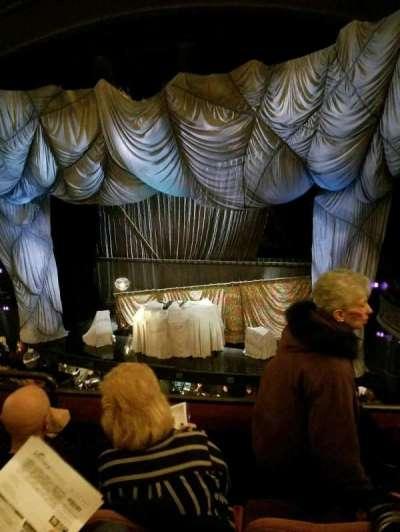 Majestic Theatre, sección: Front Mezz, fila: C, asiento: 6