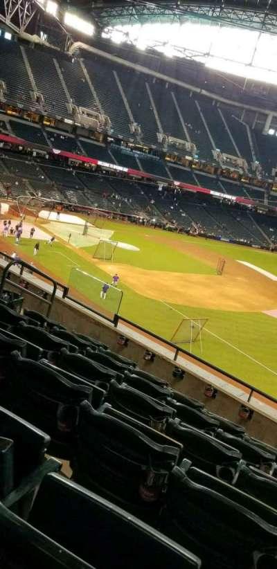 Chase Field, sección: 203, fila: 6, asiento: 11