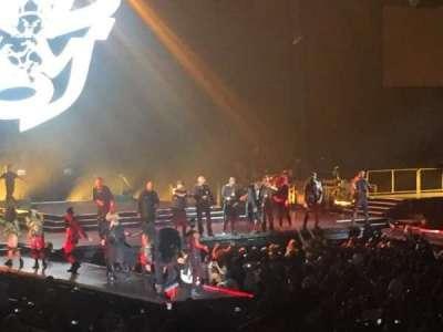 Royal Farms Arena, sección: 113, fila: M, asiento: 11