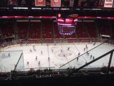 PNC Arena, sección: 305, fila: D, asiento: 4