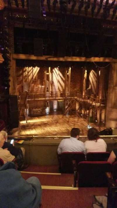 PrivateBank Theatre, sección: Mezzanine L, fila: E, asiento: 1