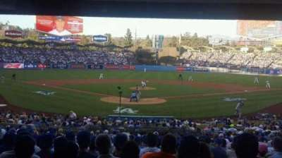 Dodger Stadium, sección: Field Level, fila: Standing
