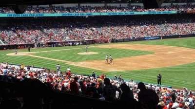 Angel Stadium, sección: T227, fila: SA, asiento: 10