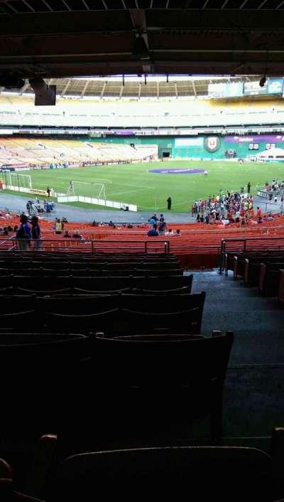 RFK Stadium, sección: 315, fila: 11, asiento: 1