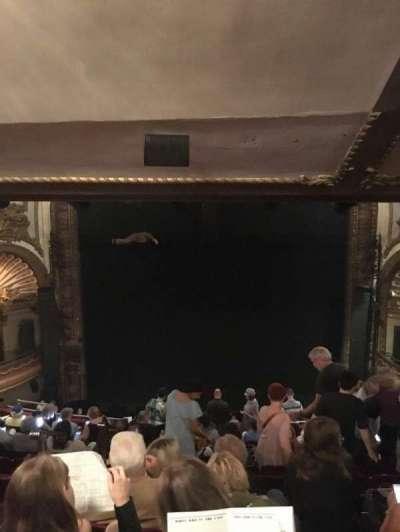 Palace Theatre (Broadway), sección: Rear Mezzanine, fila: M, asiento: 104