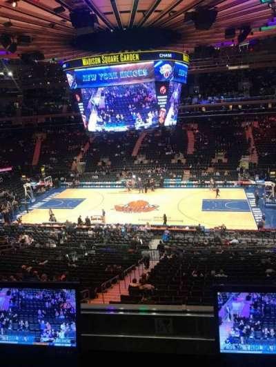 Madison Square Garden, sección: 212, fila: 2, asiento: 7