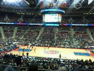 The Palace of Auburn Hills, sección: 113, fila: M, asiento: 14