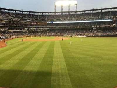 Citi Field, sección: 101, fila: 10, asiento: 8
