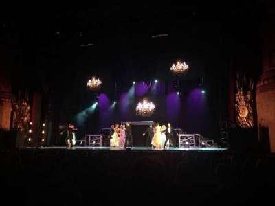 Beacon Theatre, sección: Orchestra 2, fila: L, asiento: 8