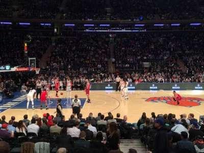 Madison Square Garden, sección: 116, fila: 7, asiento: 19