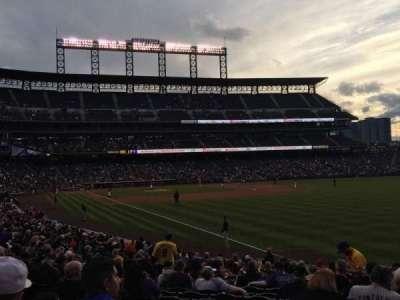 Coors Field, sección: 112, fila: 22, asiento: 4