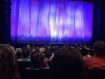 Marquis Theatre, sección: Orchestra, fila: K, asiento: 106