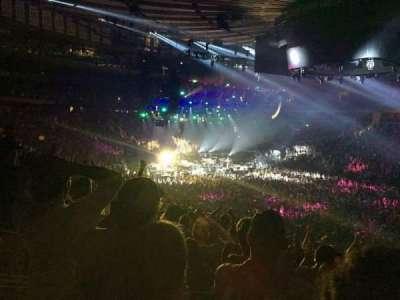 Madison Square Garden, sección: 119, fila: 22, asiento: 8
