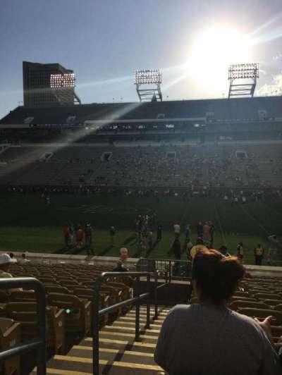 Bobby Dodd Stadium, sección: CL-1, fila: 20, asiento: 1
