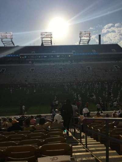 Bobby Dodd Stadium, sección: CL-3, fila: 23, asiento: 28