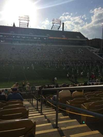 Bobby Dodd Stadium, sección: CL-4, fila: 23, asiento: 22