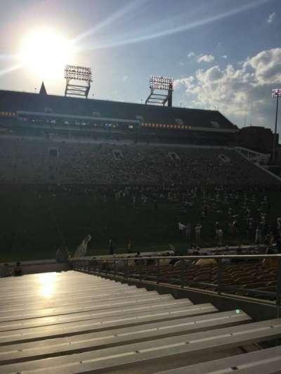 Bobby Dodd Stadium, sección: 127, fila: 30, asiento: 1