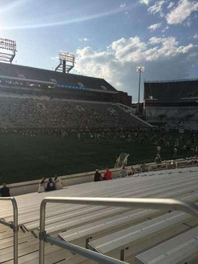 Bobby Dodd Stadium, sección: 129, fila: 22, asiento: 21