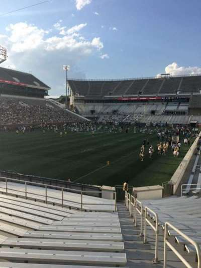 Bobby Dodd Stadium, sección: 132, fila: 22, asiento: 32