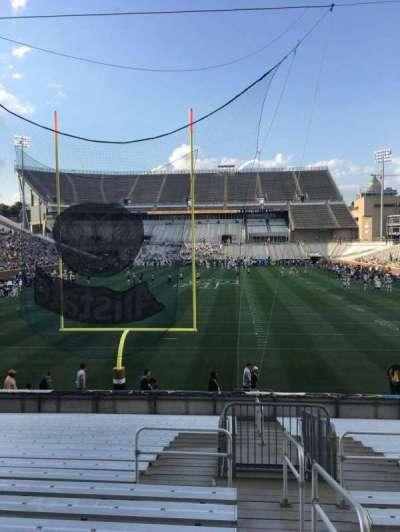 Bobby Dodd Stadium, sección: 134, fila: 22, asiento: 33