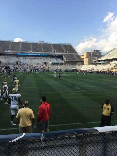 Bobby Dodd Stadium, sección: 135, fila: 4, asiento: 21