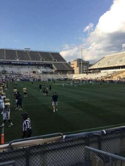 Bobby Dodd Stadium, sección: 136, fila: 4, asiento: 15