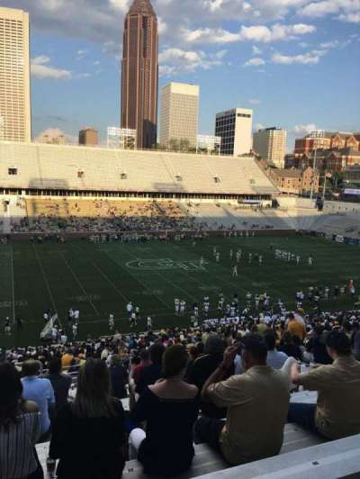 Bobby Dodd Stadium, sección: 108, fila: 48, asiento: 24