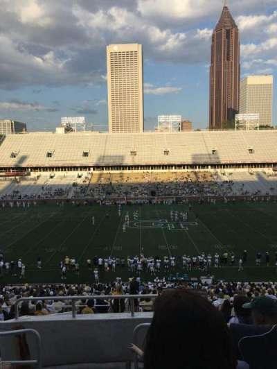 Bobby Dodd Stadium, sección: 106, fila: 44, asiento: 24