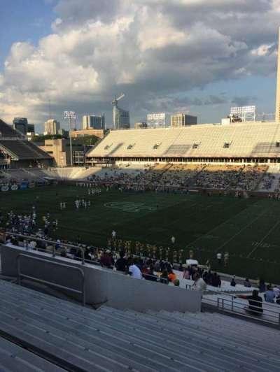 Bobby Dodd Stadium, sección: 102, fila: 44, asiento: 13