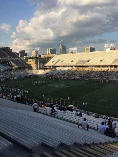 Bobby Dodd Stadium, sección: 101, fila: 44, asiento: 18