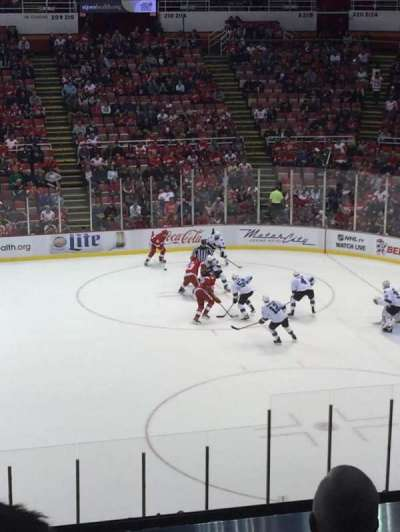 Joe Louis Arena, sección: 220, fila: 6, asiento: 13