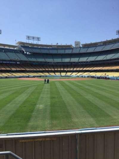 Dodger Stadium, sección: 309PL, fila: B, asiento: 18