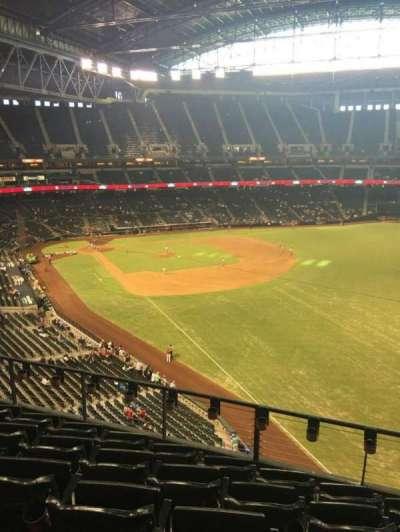 Chase Field, sección: 301, fila: 6, asiento: 7