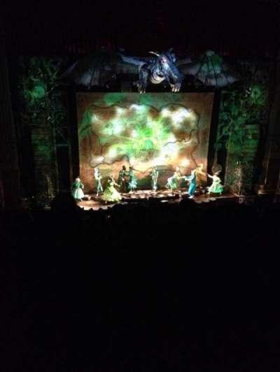 Oriental Theatre, sección: BALCLC, fila: E, asiento: 329