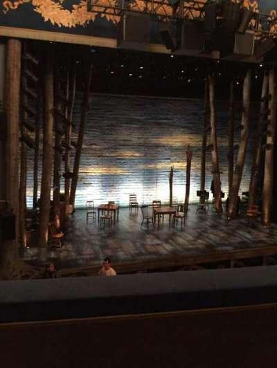 Gerald Schoenfeld Theatre, sección: Mezz, fila: B, asiento: 3
