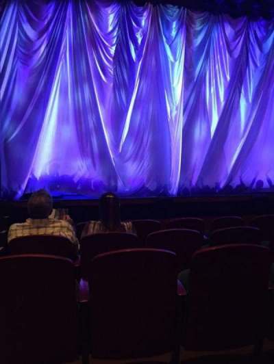 Ziff Ballet Opera House at the Arsht Center, sección: Orch, fila: B, asiento: 101