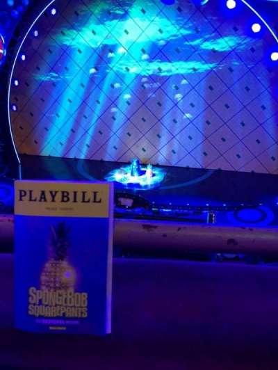 Palace Theatre (Broadway), sección: Mezz, fila: AA, asiento: 113