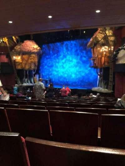 Marquis Theatre, sección: Orch, fila: U, asiento: 14