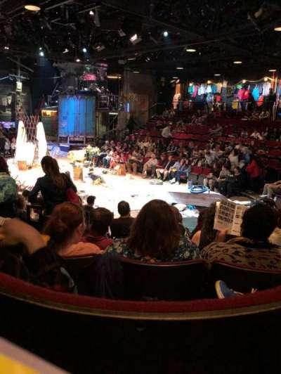 Circle in the Square Theatre, sección: Orch, fila: G, asiento: 131