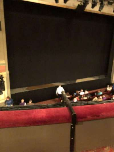 Neil Simon Theatre, sección: Mezz, fila: B, asiento: 1