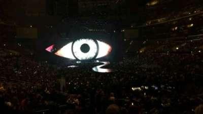Staples Center, sección: 209, fila: 4, asiento: 1