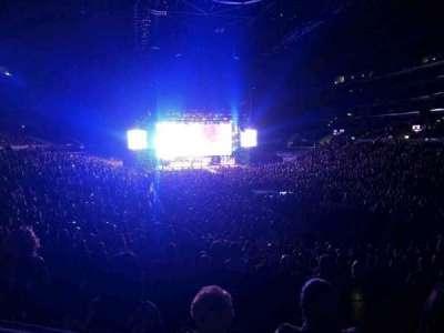Staples Center, sección: 209, fila: 5, asiento: 5