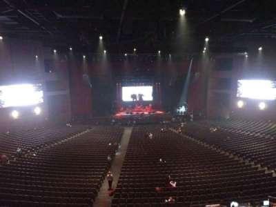 Microsoft Theater, sección: Lower Mezz center left, fila: B, asiento: 406
