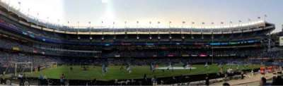 Yankee Stadium sección 105