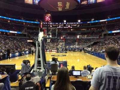 Capital One Arena, sección: 105